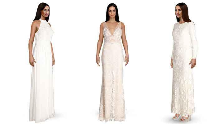 eco-friendly wedding dress