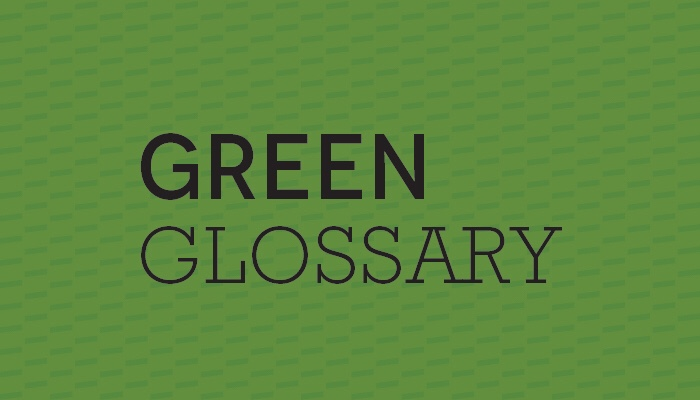 green glossary of words