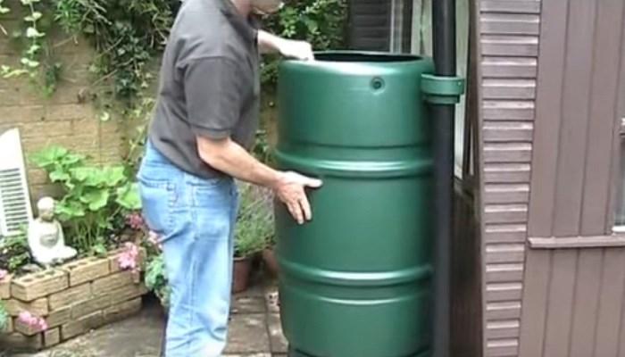 water barrel features