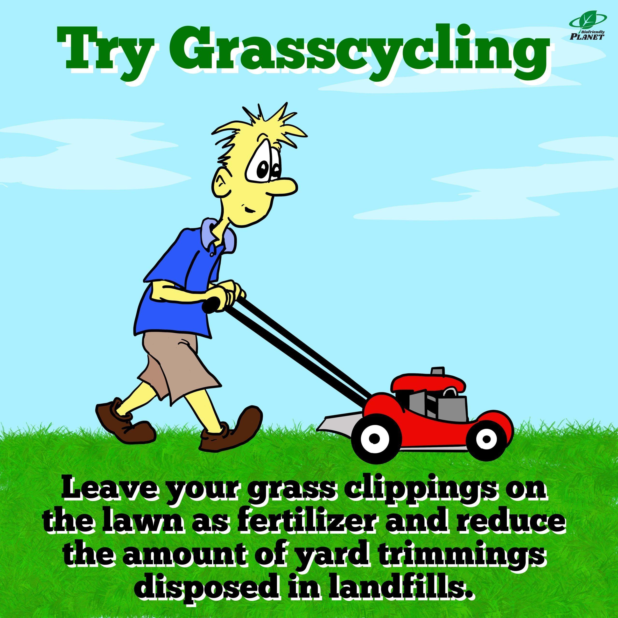 Attempt Grasscycling|Tuesday Tip
