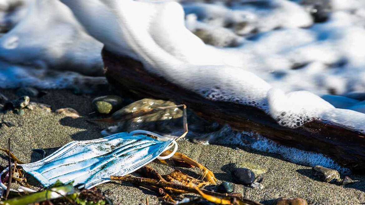 Pick Up that Mask! PPE Littering the World's Beaches, Ocean Conservancy Reports