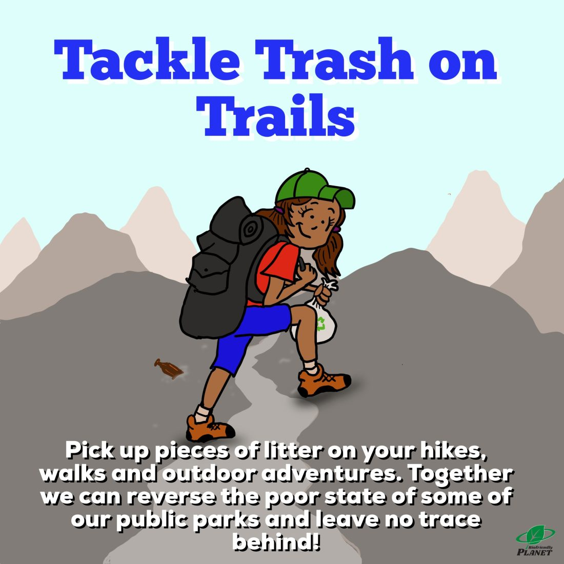 Tackle Trash on Trails| Tuesday Tip