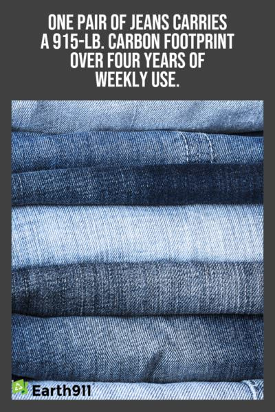 We Earthlings: The Carbon Footprint of Jeans