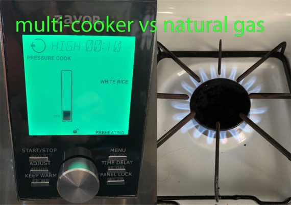 Cooking with Gas vs. Pressure – which makes use of extra vitality?