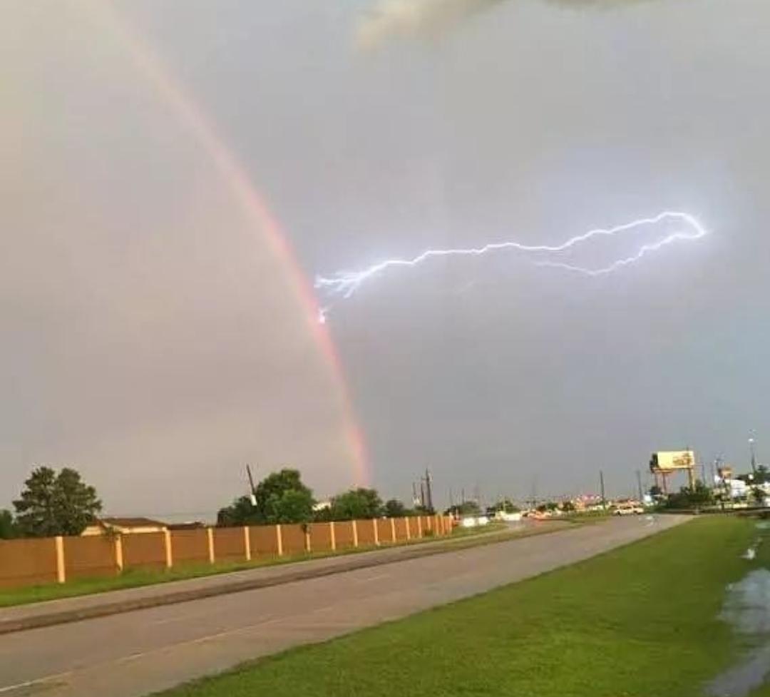 Lightning Versus Rainbow
