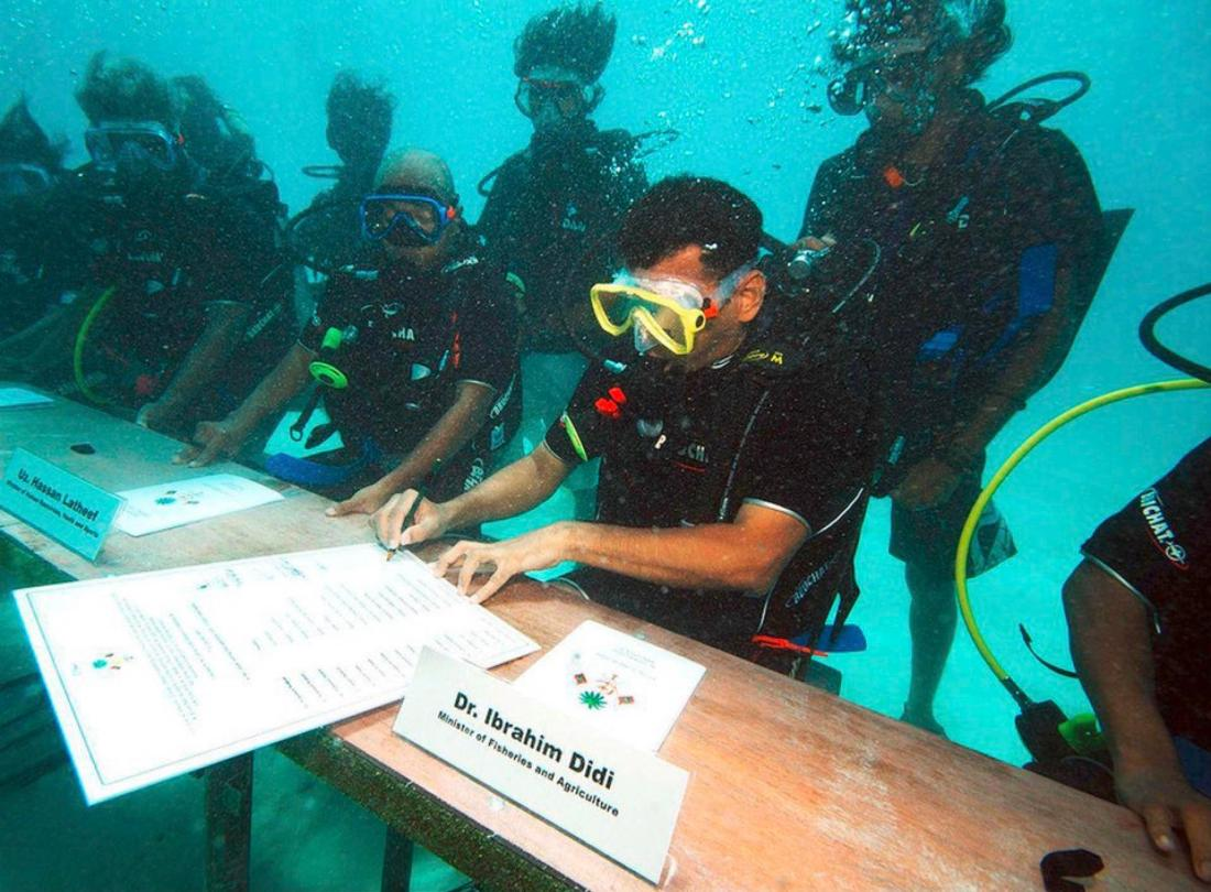 Underwater Climate Meeting