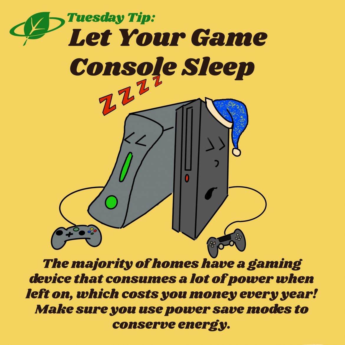 Let Your Game Console Sleep | Tuesday Tip