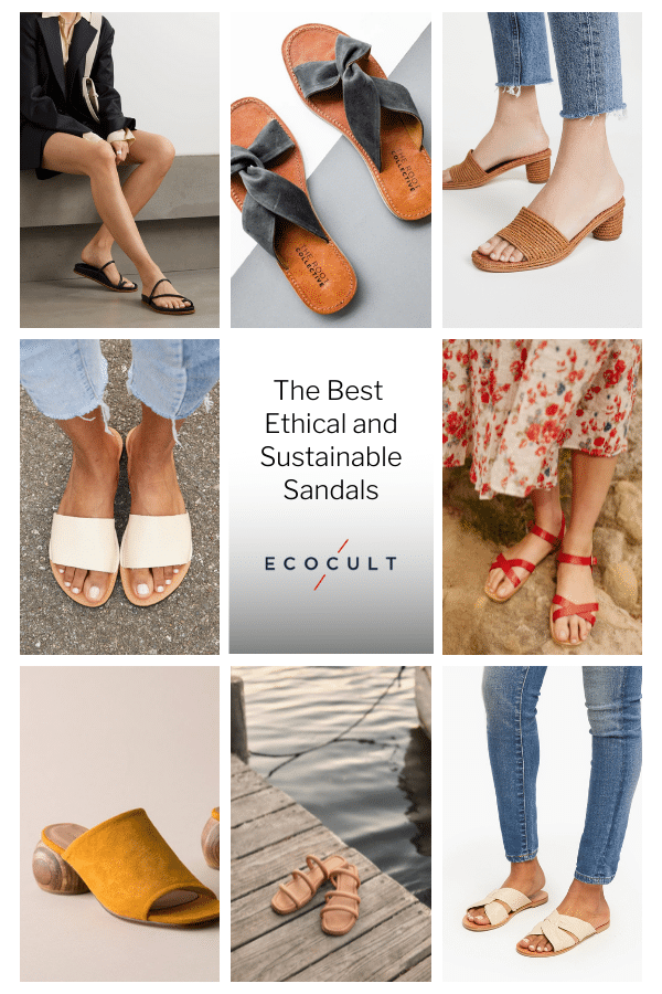 The Best Ethical and Sustainable Sandals for Summer