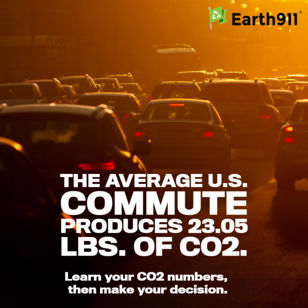We Earthlings: The Average Commute Produces 23.05 Lbs. of CO2