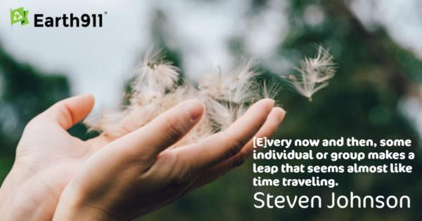 Earth911 Inspiration: Steven Johnson — Innovation Is Like Time Travel