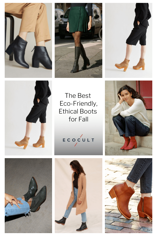 The Best Eco-Friendly, Ethical Boots for Fall
